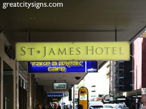 Business Identification - St James Hotel