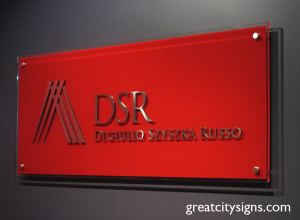 1233D_Stainless_Steel_Reception_Sign