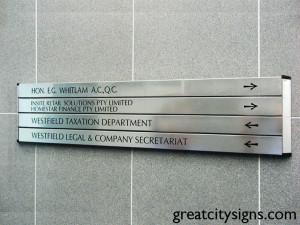 Conventional-Aluminium-Slat-Vinyl-graphics-directional-statutory-signage-sydney