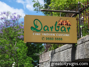 Business Identification - Darbar Fine Indian Cuisine